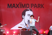 Fotos: Maximo Park live bei Rock am Ring 2014