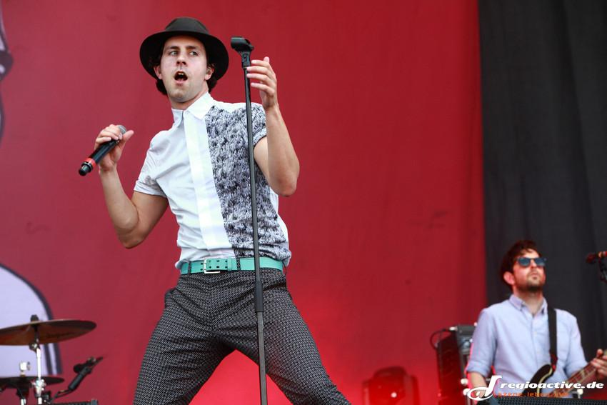 Maximo Park (live bei Rock am Ring, 2014)