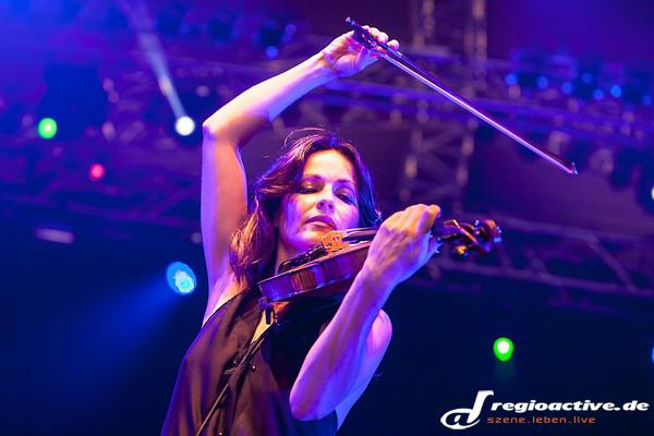 Celtic Summer Night - Fotos: Sharon Corr live auf dem Hessentag in Bensheim