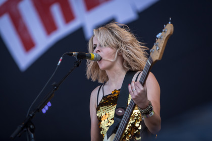 Am Nachmittag - Fotos: The Subways und The Sounds live beim Southside Festival 2014