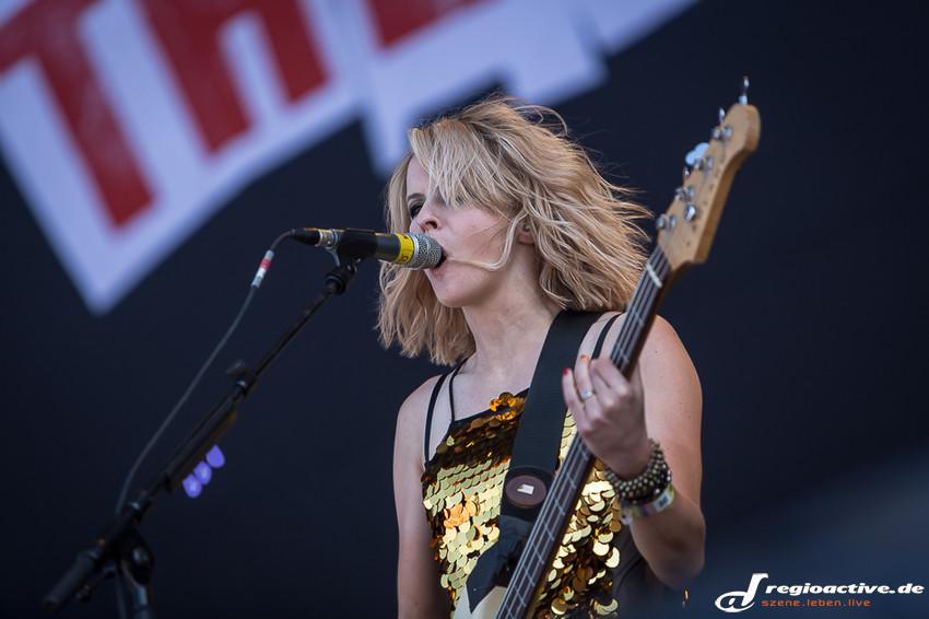 The Subways (live beim Southside Festival 2014)