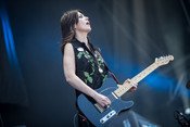 Fotos: Blood Red Shoes live beim Southside Festival 2014
